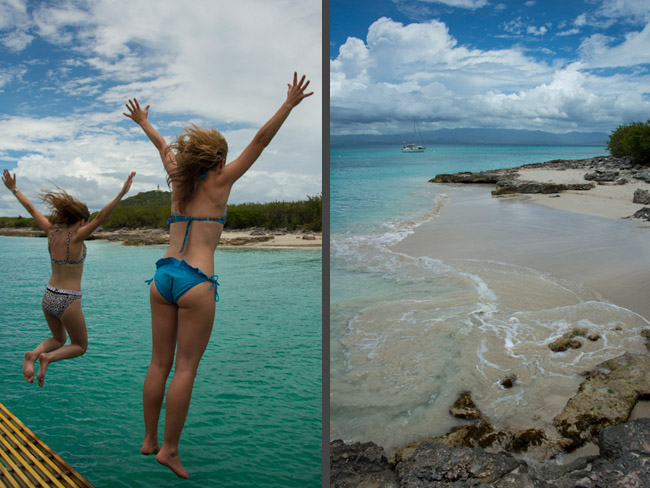 Pristine waters of Caja de Muerto island ideal for swimming & snorkeling