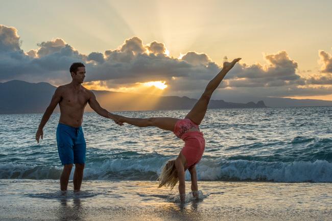 partner sunset