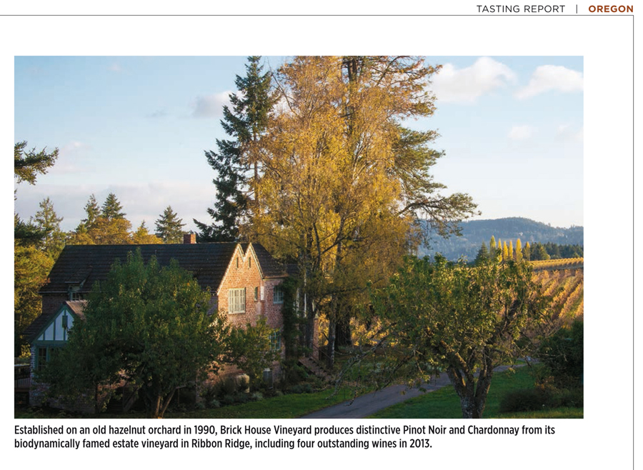 Wine Spectator Oregon Feature photos 2016, Brick House Winery